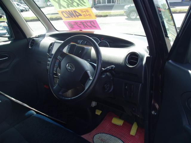 ダイハツ タント カスタムX 4WD ワンオーナー