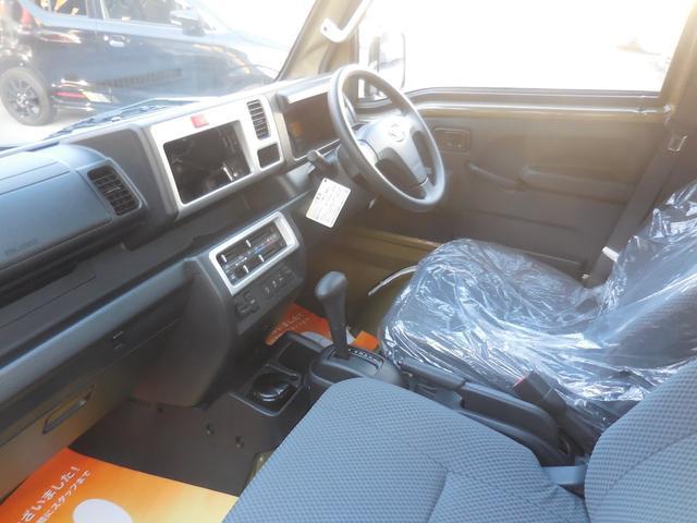 ジャンボSAIIIt 4WD 切替式4WD コーナーセンサー 荷台作業灯 届出済未使用車(12枚目)