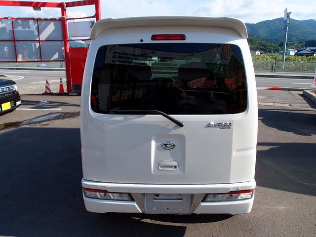 カスタムターボRSリミテッド SAIII 4WD ターボ 左パワースライドドア アイドリングストップ オートハイビーム(6枚目)