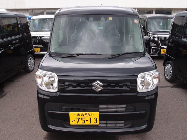 ハイブリッドG 4WD 届出済み未使用車 スズキセーフティサポート 運転席シートヒーター コーナーセンサー スマートキー アイドリングストップ(2枚目)