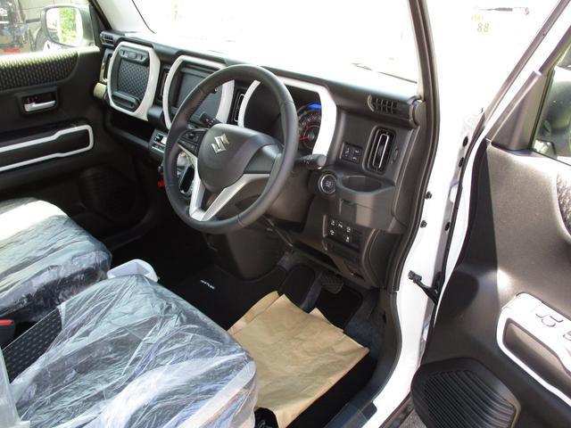 ハイブリッドX 4WD 届出済み未使用車 スズキセーフティサポート 全方位モニター用カメラ(9枚目)