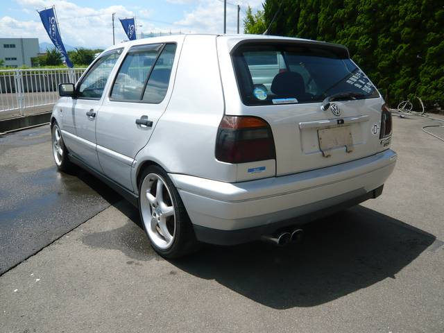フォルクスワーゲン VW ゴルフ VR6 ディーラー車 ワンオーナー 17インチアルミ CD