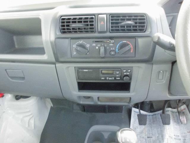 三菱 ミニキャブトラック Vタイプ 4WD エアコン パワステ ラジオ