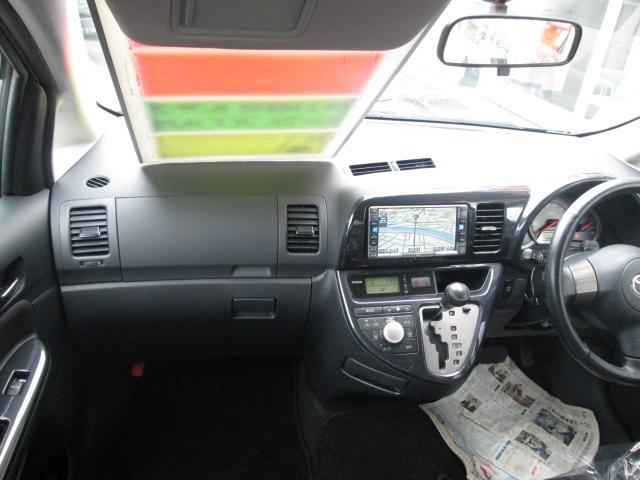 トヨタ ウィッシュ X エアロスポーツパッケージ 4WD 純正HDDナビ