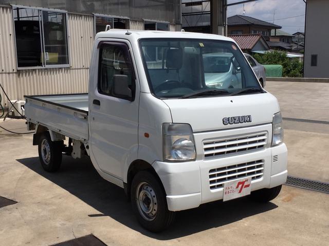 KCエアコン・パワステ 4WD ワンオーナー 三方開(3枚目)