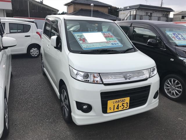 「スズキ」「ワゴンRスティングレー」「コンパクトカー」「福島県」の中古車2