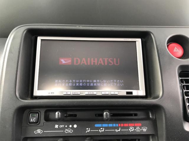 4WD AC AT 軽トラック TV ナビ オーディオ付(9枚目)