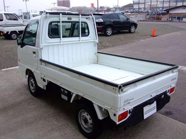スバル サンバートラック TC スーパーチャージャー 三方開 4WD ABS