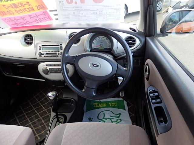 ダイハツ ミラジーノ X 4WD CD キーレス カーボン調ルーフ オートエアコン