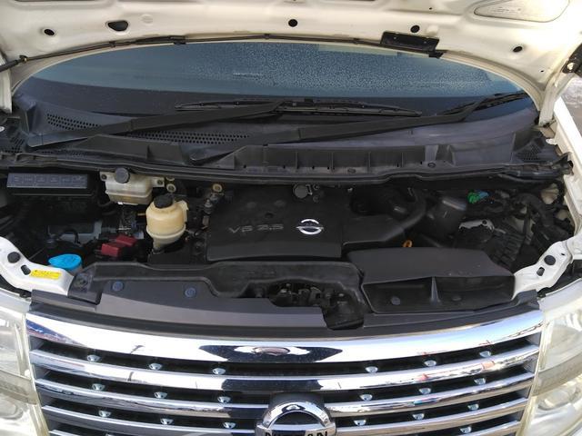 Vエアロ 4WD エンジンスターター バックカメラ DVD 後部座席モニター HID 8人乗り サイドビューカメラ インテリジェントキー(9枚目)