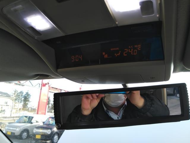 Vエアロ 4WD エンジンスターター バックカメラ DVD 後部座席モニター HID 8人乗り サイドビューカメラ インテリジェントキー(18枚目)