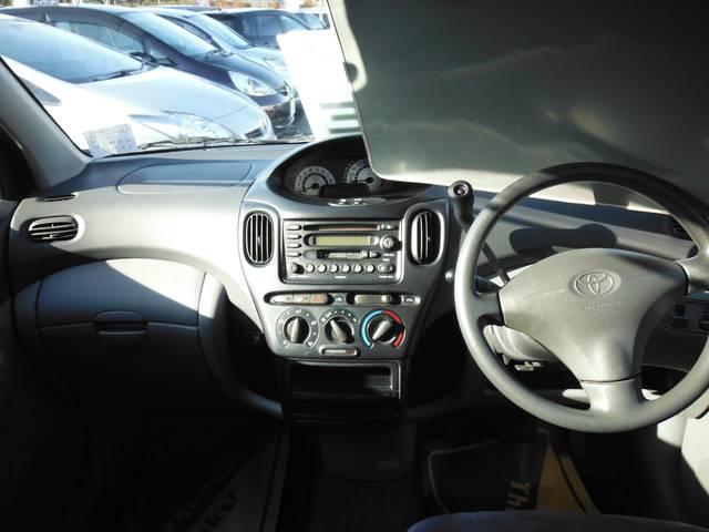 トヨタ ファンカーゴ X 社外エンスタ オーバーヘッドコンソール