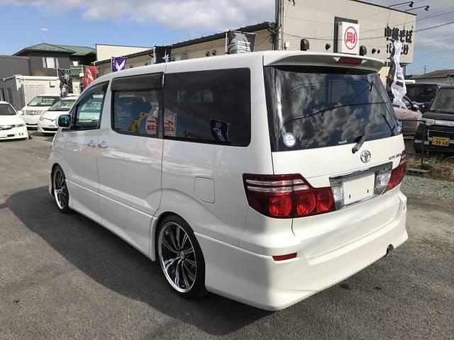 トヨタ アルファードG AS HDDナビ 地デジ バックモニター パワースライドドア