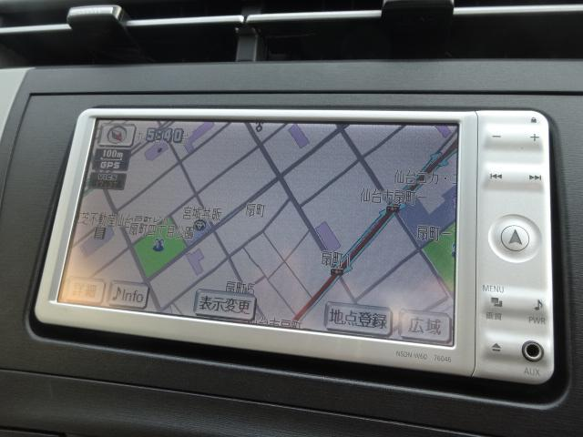 トヨタ プリウス S LEDエディション メモリーナビワンセグTV スマートキ