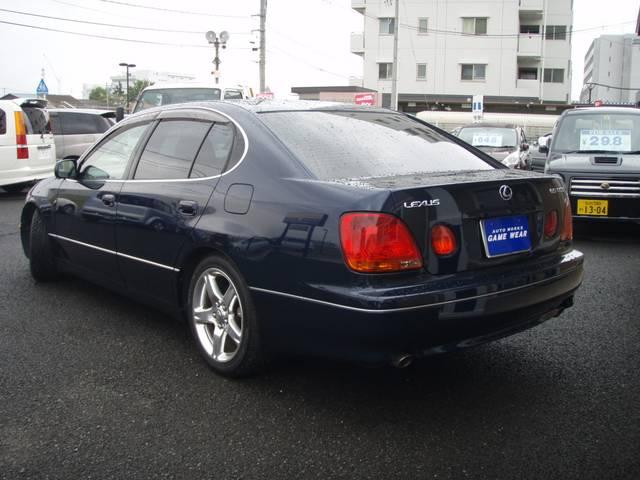 トヨタ アリスト S300 本革シート ウッドコンビステアリング ダウンサス