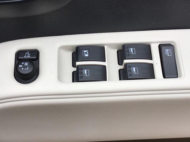 パワーウインドウスイッチは一か所にまとまって操作しやすくなっています。