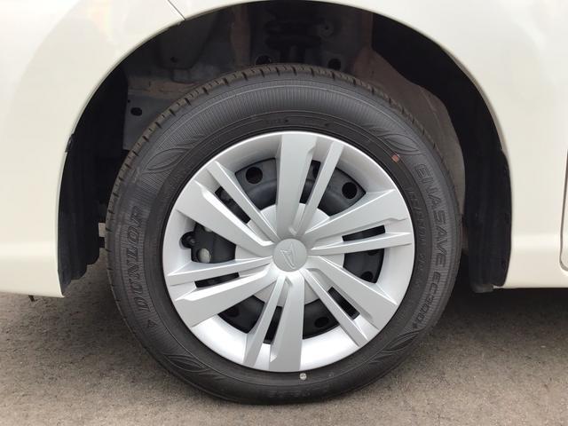 タイヤの溝はまだまだ残っています!これからの走行距離と使い方にもよりますが、すぐに買い替える心配もなく、次回車検まで使えるかも?