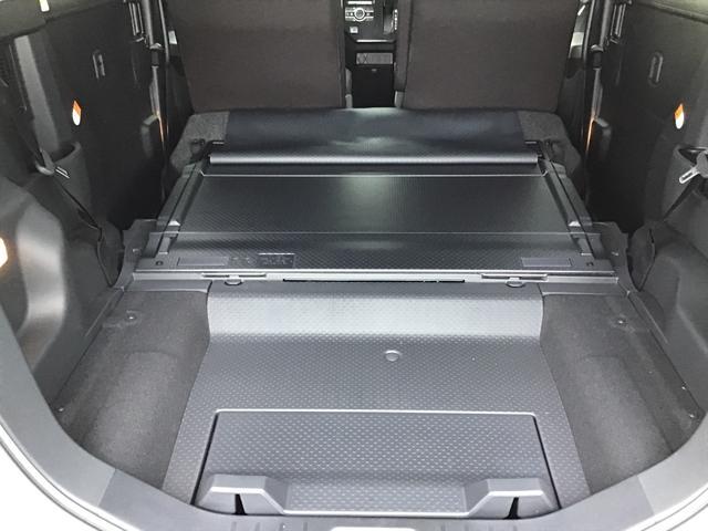 汚れしまった荷物を積むときに使用できるビニールのカバーも標準で装備されています。お手入れも楽々です。