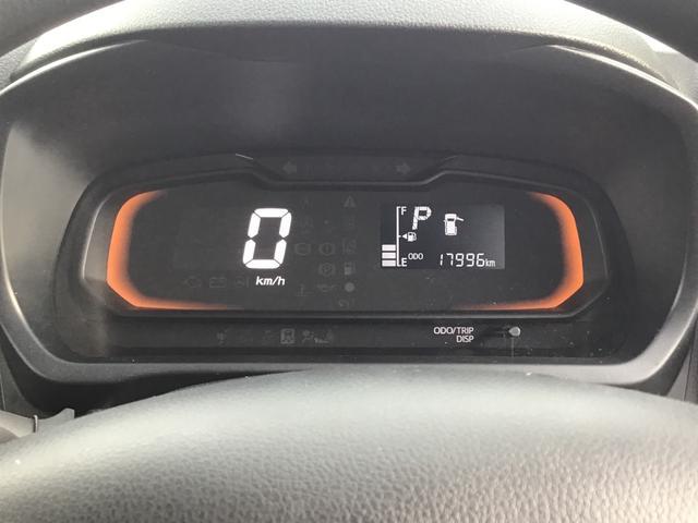 デジタル表示でスピードも見やすく一目でわかります。ドアが開いている時は、どこが開いているのか表示されます。うっかりの半ドア走行も防げます!