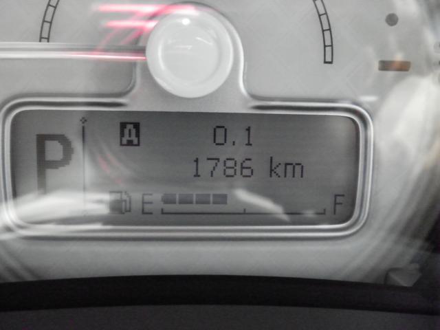 走行距離は1786km。
