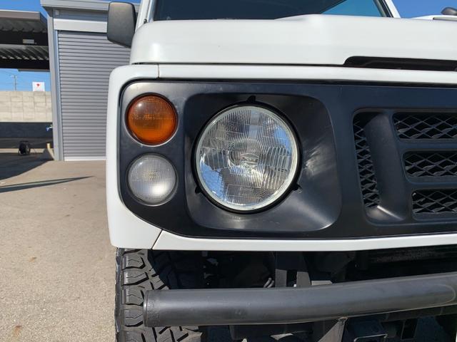 ランドベンチャー 4WD エンジンОH済 リフトアップ 5速マニュアル 記録簿 M/Tタイヤ F&Rクロカンバンパー ルーフキャリア 黒革調シートカバー MOMOステアリング ノックスドール施工済 16インチAW(38枚目)