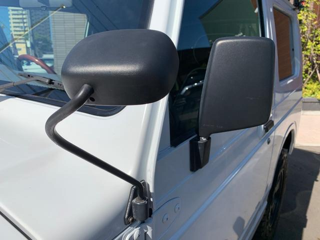 ランドベンチャー 4WD エンジンОH済 リフトアップ 5速マニュアル 記録簿 M/Tタイヤ F&Rクロカンバンパー ルーフキャリア 黒革調シートカバー MOMOステアリング ノックスドール施工済 16インチAW(41枚目)