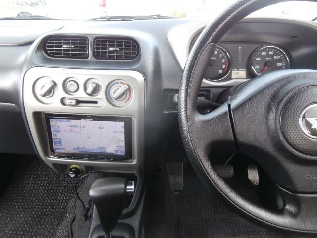 カスタムL 4WD ターボ センターデフロック付 背面タイヤ ナビ地デジ 1オーナー キーレス 純正エアロ Rスポ(25枚目)