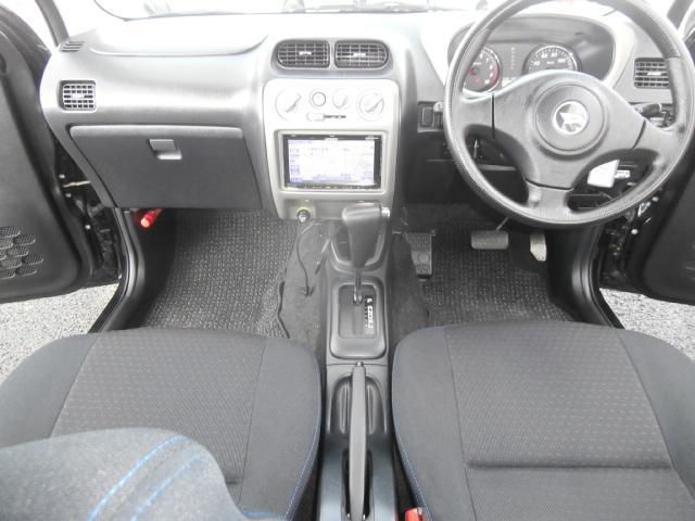 カスタムL 4WD ターボ センターデフロック付 背面タイヤ ナビ地デジ 1オーナー キーレス 純正エアロ Rスポ(26枚目)