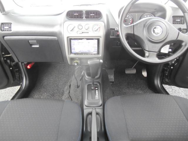 カスタムL 4WD ターボ センターデフロック付 背面タイヤ ナビ地デジ 1オーナー キーレス 純正エアロ Rスポ(27枚目)