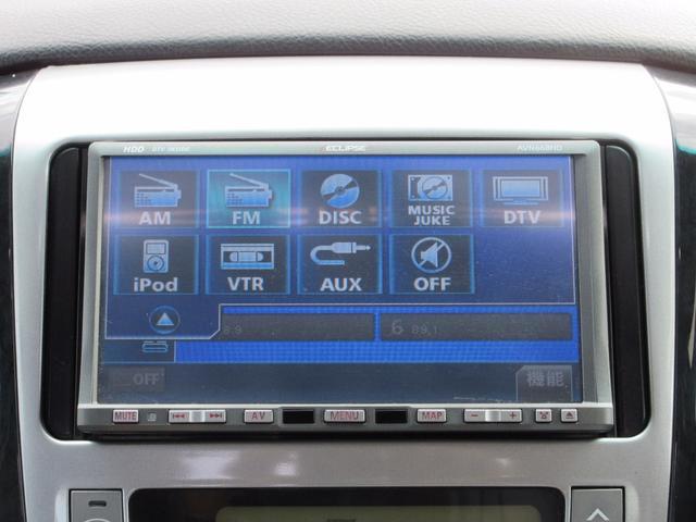 トヨタ アルファードV ASプレミアム ツインSR 両側自動ドア フルセグHDDナビ