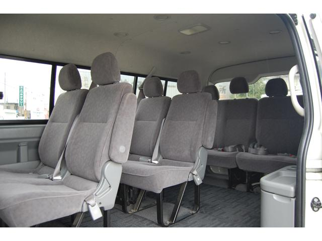 トヨタ ハイエースワゴン 4ドアロングGL4WD 送迎仕様車10名