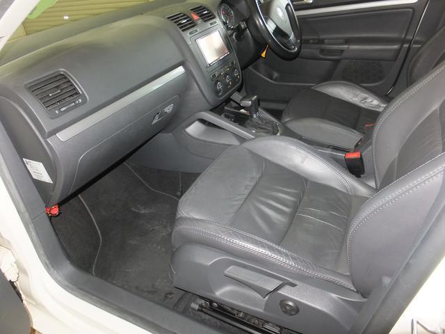 フォルクスワーゲン VW ゴルフヴァリアント 2.0TSI スポーツライン 社外HDDナビ ワンセグTV