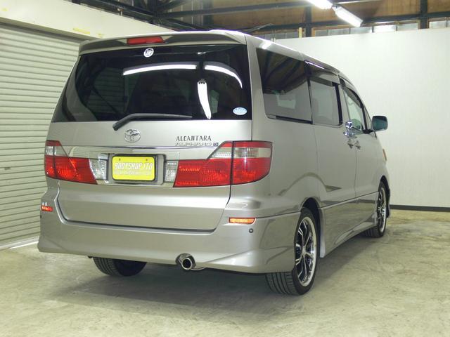 トヨタ アルファードG AS プレミアム アルカンターラバージョン 4WD