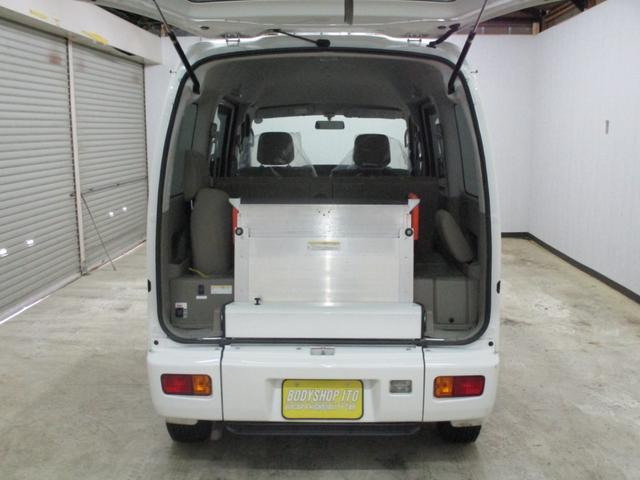 スローパー 4WD 車いすスローパ車両 ウインチ付 福祉車両(7枚目)