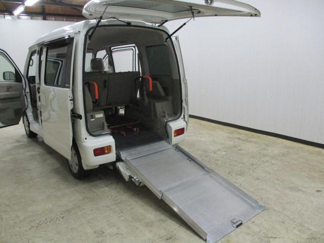 スローパー 4WD 車いすスローパ車両 ウインチ付 福祉車両(9枚目)