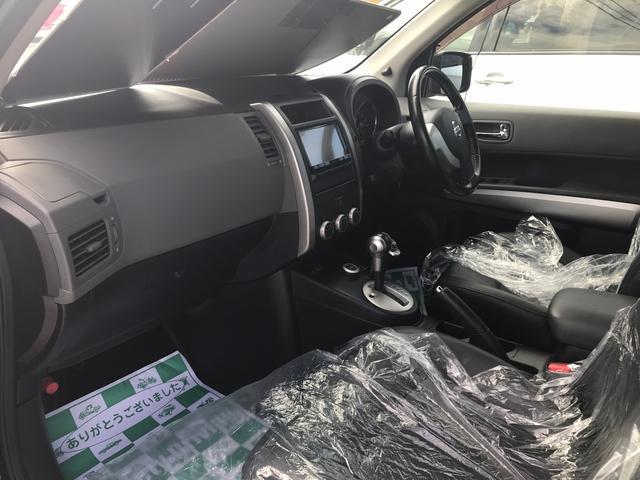 日産 エクストレイル 20X 4WD 社外HDDナビ フルセグTV オートエアコン