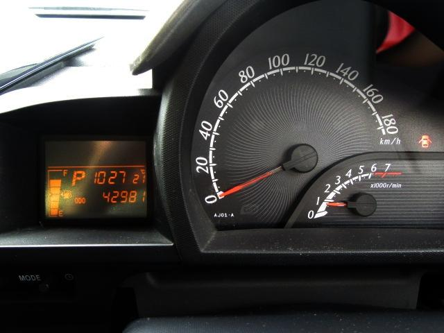 マルチインフォメーションディスプレイ付コンビネーションメーター!走行距離は42.981kmです!アフターメンテナンスもぜひお任せください(*^-^*)