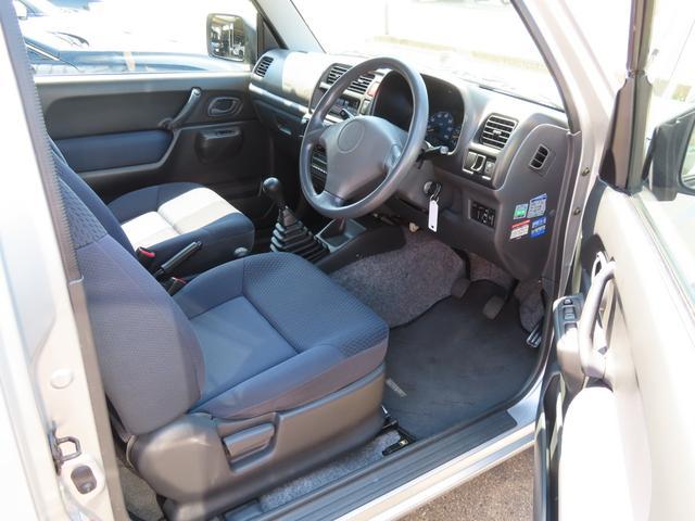 XC 4WD 5速MT 副変速機付きトランスファーレバー フォグランプ 電動格納ヒーテッドドアミラー キーレスキー ABS(7枚目)