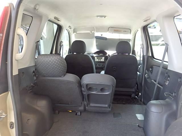 トヨタ ファンカーゴ X 4WD CD キーレス