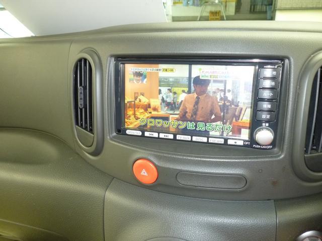 日産 キューブ 15X FOUR 4WD HDDナビ バックカメラ