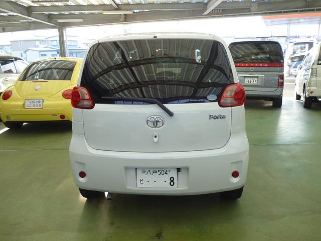 トヨタ ポルテ 150i Cパッケージ 左パワースライドドア
