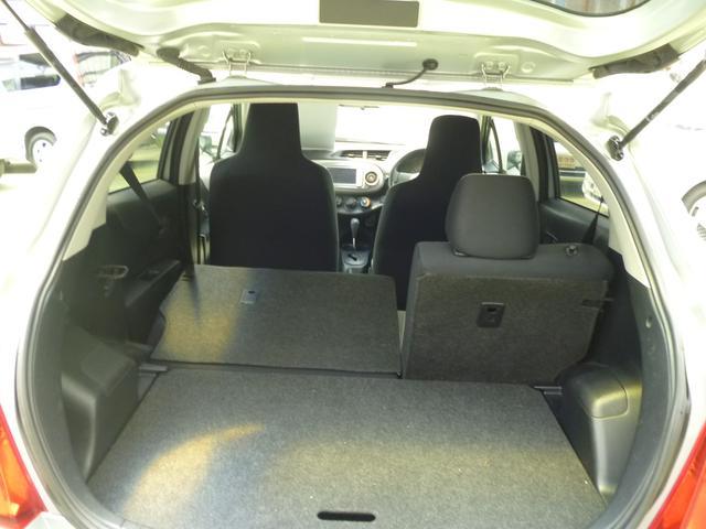 トヨタ ヴィッツ 1.3F 切替4WD 後期 純正ナビ