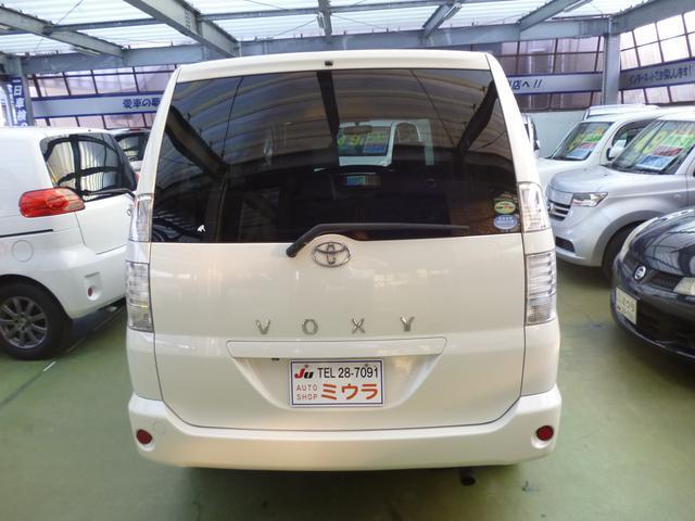 トヨタ ヴォクシー X 後期CVT バックカメラ 切替4WD タイベルチェーン