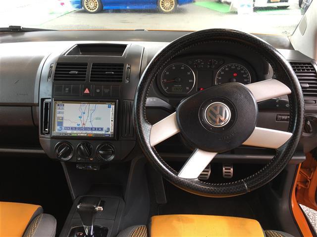 フォルクスワーゲン VW ポロ HDDナビ DVD再生 キーレス CDオーディオ