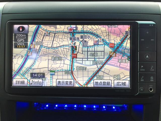 トヨタ ヴェルファイア 2.4Z HDDナビ フルセグ 20インチアルミ ETC