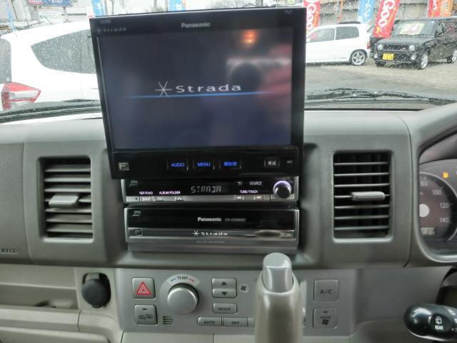 PZターボ 4WD パワースライド HDDナビTV(10枚目)