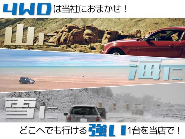 4WDで雪道も安心!