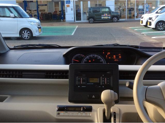 運転席の視界も良好です!
