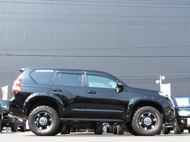 トヨタ ランドクルーザープラド 新車コンプリートTX4WD リフト Wマフラー ナビPKG
