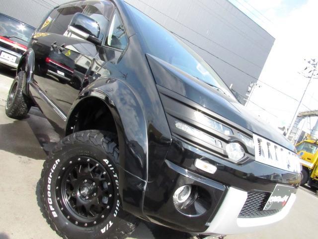 三菱 デリカD:5 エクシードII4WD左Pスラ 地デジ 新品コンプリート